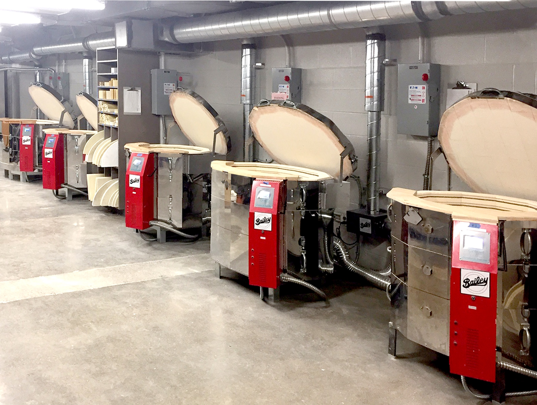 Top Loading Electric Kilns & Accessories