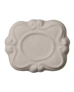 White Porc/Stoneware Slip C/4-6