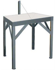 2 Person Wedging Table